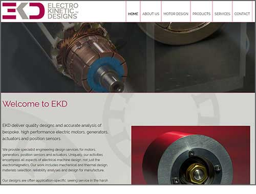 EKD - Electrokinetic Designs' website