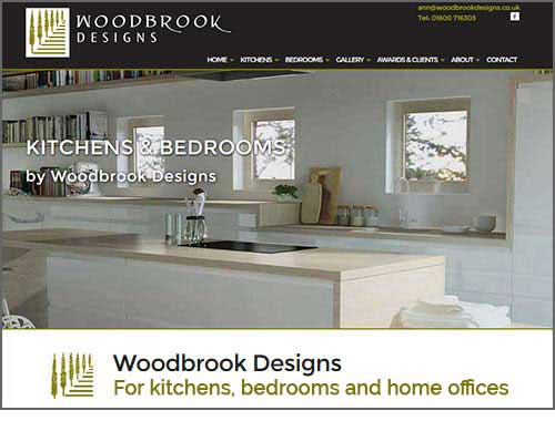 Woodbrook Designs Monmouth - website designed and developed by Elizabeth Walsh